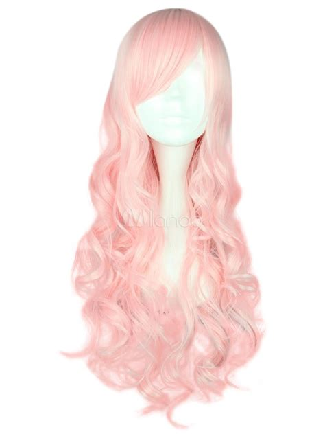 light pink wig light pink wig curly white wigs