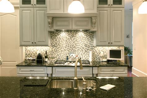 tile backsplashes for kitchens ideas the best backsplash ideas for black granite countertops 8471