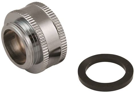Faucet Aerator Hose Thread Adapter by Plumb Pak Pp800 64lf Dual Threaded Faucet Aerator Hose