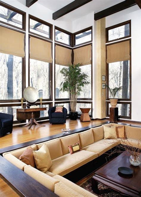 sunken living room conversation pits padstyle interior design