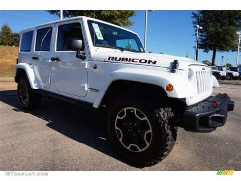 Bright White 2016 Jeep Wrangler Unlimited Rubicon Hard