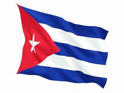 Cuba Flag Flags Waving Cuban Icon Fluttering