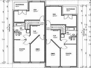 Doppelhaus Grundriss Beispiele : doppelhaus bauen mit ber 150 qm grundriss ~ Lizthompson.info Haus und Dekorationen