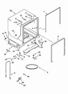 Kitchenaid Dishwasher Tub And Frame Parts