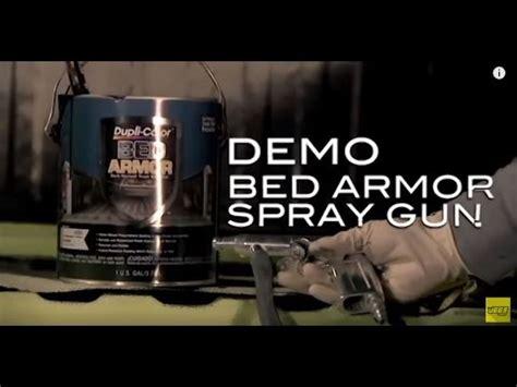 duplicolor bed armor truck bed liner spray gun tutorial