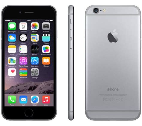 iphone space gray buy apple iphone 6 64 gb space grey free delivery