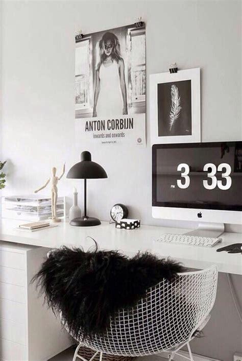 bureau imac decoration imac magnifique noir et blanc bureau