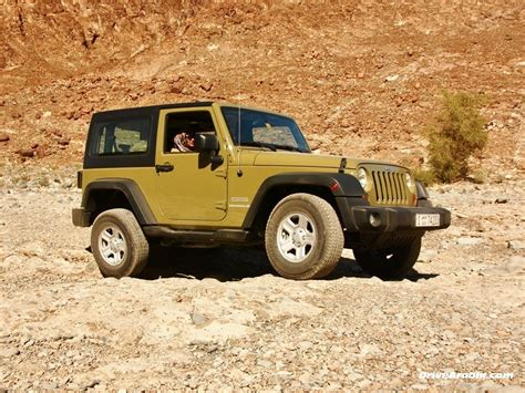 2013 Jeep Wrangler At Jeep Jamboree Dubai