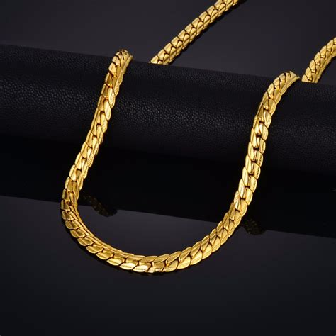 aliexpress buy new arrival men jewelry gold silver aliexpress buy brand gold snake chain necklace