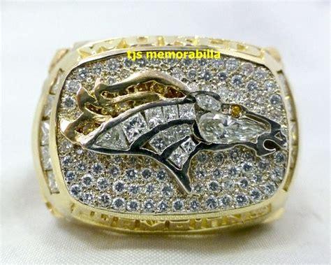 1997 Denver Broncos Super Bowl Xxxii Championship Ring
