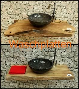 Waschtisch Aus Holz Für Aufsatzwaschbecken : massiver holz waschtisch aus teak f r aufsatzwaschbecken ~ Lizthompson.info Haus und Dekorationen
