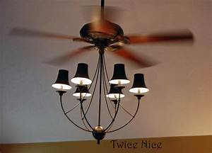 Twice nice big blue and ceiling fans
