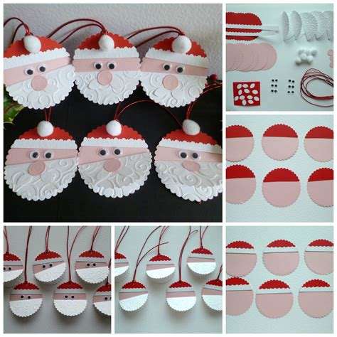 make your own father christmas gift tags