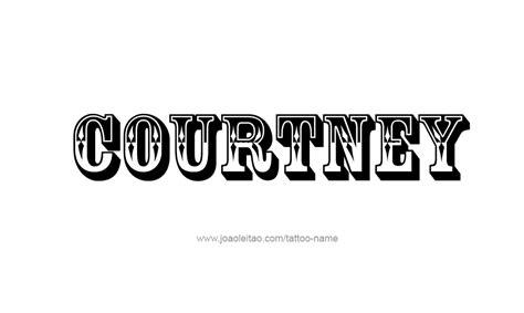 courtney  tattoo designs