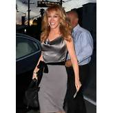 KATHY GRIFFIN at Craig's Restaurant in West Hollywood 06/30/2015 ...