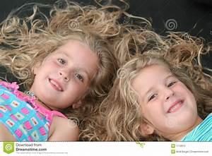 Identical Twin Children stock photo. Image of love ...