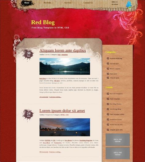 18+ Free Blog Themes & Templates - Wordpress, Personal ...