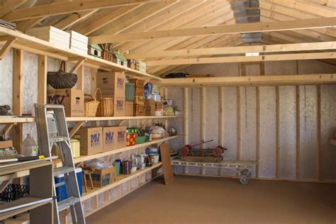 Shed Organizers : Relax On A Full-length Porch!
