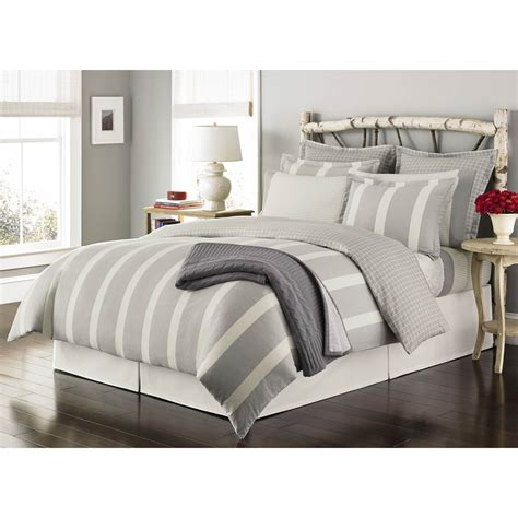 queen flannel duvet cover martha stewart collection willow stripe flannel duvet cover set duvet covers home