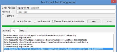 configure autodiscover  exchange