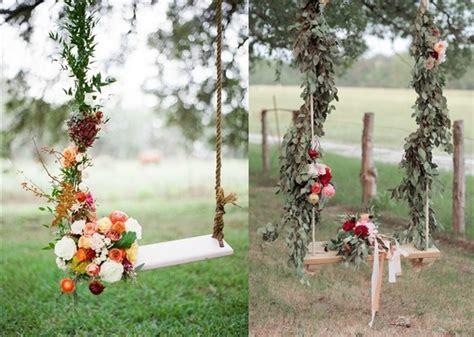 30 Wedding Reception Décor Swing Ideas Deer Pearl Flowers