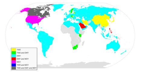 write  date   countries brilliant maps