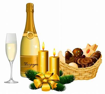 Champagne Clipart Christmas Happy Birthday Champaign Transparent