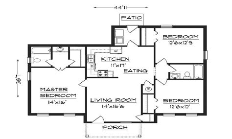 homes floor plans simple house plans small house plans house planning