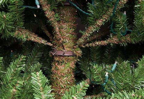 what is a hinged artificial christmas tree prelit trees guide
