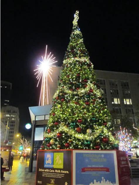 westlake center christmas tree lighting lights around the world