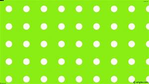 Wallpaper spots dots polka white lime #8cf017 #fffff0 225 ...