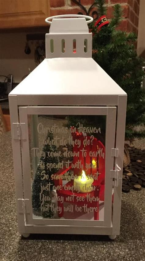 christmas in heaven craft in heaven lantern cricut stuff lanterns ornaments