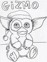 Coloring Gremlins Gizmo Pages Template sketch template