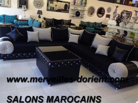canapé marocain toulouse salon marocain noir avec strass idées de design