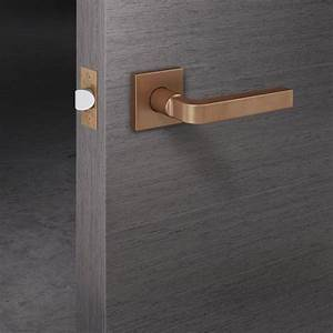door hardware lever handle set stunning matt copper bronze With copper barn door hardware