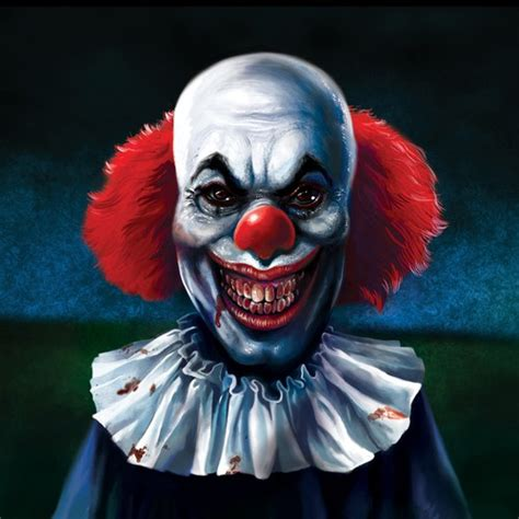 Design The Scariest Clown You Can Illustration Or