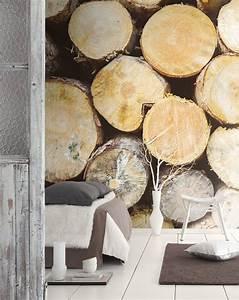 Papier Peint Trompe L Oeil Bois : collection so wall papier peint trompe galerie avec papier ~ Premium-room.com Idées de Décoration