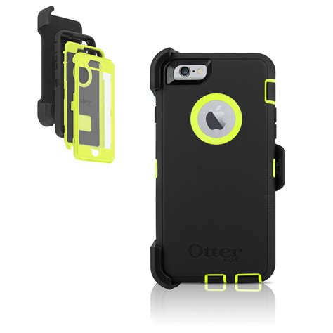 otterbox iphone 6 defender otterbox defender iphone 6 4 7 holster midnight