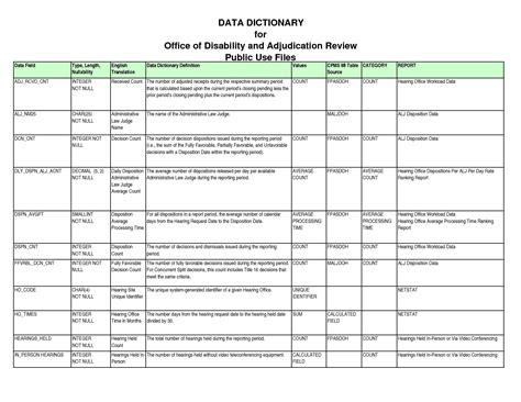 data dictionary template data dictionary template sadamatsu hp