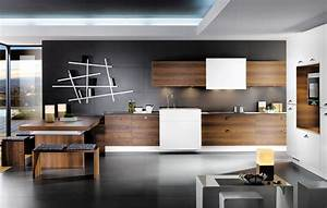 Black and brown kitchen design stylehomesnet for Brown and black kitchen designs