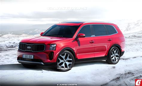Kia New Suv 2020 by 2020 Kia Telluride Everything We On The Size