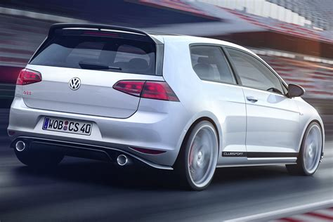 Wv Golf Gti by Vw Details Golf Gti Clubsport Releases New Photos From