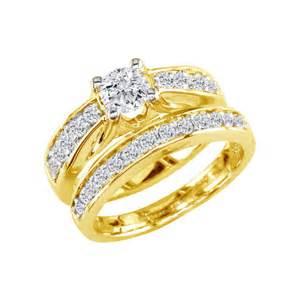 gold wedding ring sets bridal sets bridal sets wedding rings white gold