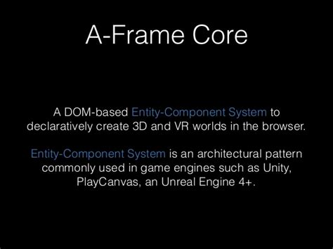Introduction To A-frame