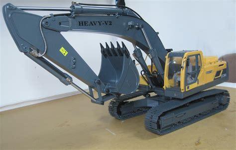 rc hydraulic excavator  rcwd  scale bagger volvo wahleys modellbau store