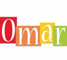 Omar Logo | Name Logo Generator - Kiddo, I Love, Colors Style