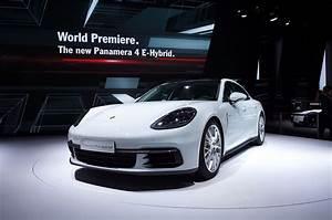 Porsche Panamera Hybride : mondial 2016 porsche panamera hybride ~ Medecine-chirurgie-esthetiques.com Avis de Voitures