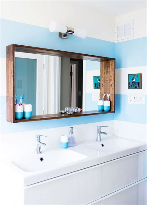 Bathroom Mirrors Ideas before after a big sea of bright apartment interiors