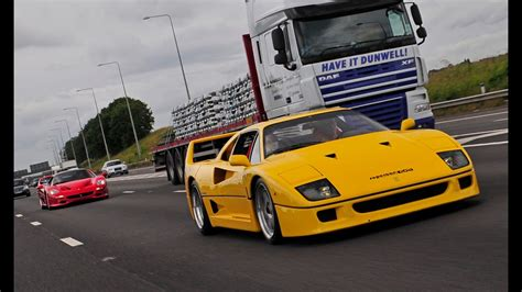 Yellow F40 by Yellow F40 F50 On The Road