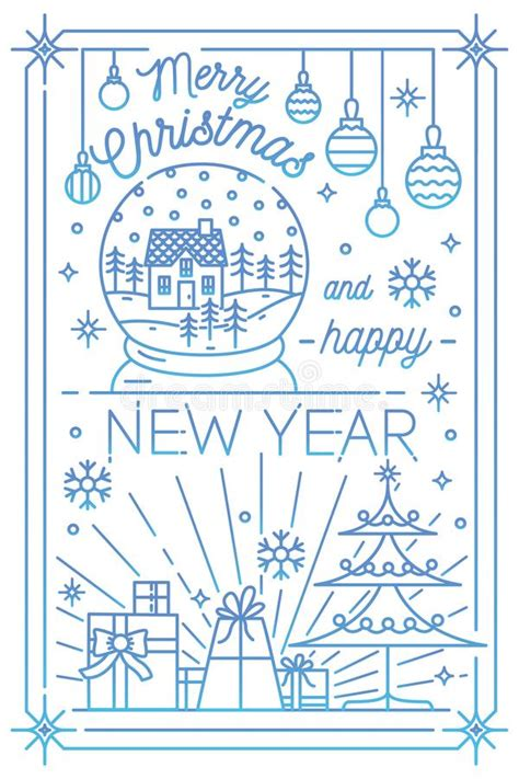 May you be blessed with a happy home where. Merry Christmas And Happy New Year Greeting Card Template ...
